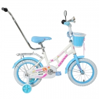 "велосипед kespor 14"" princess белый"