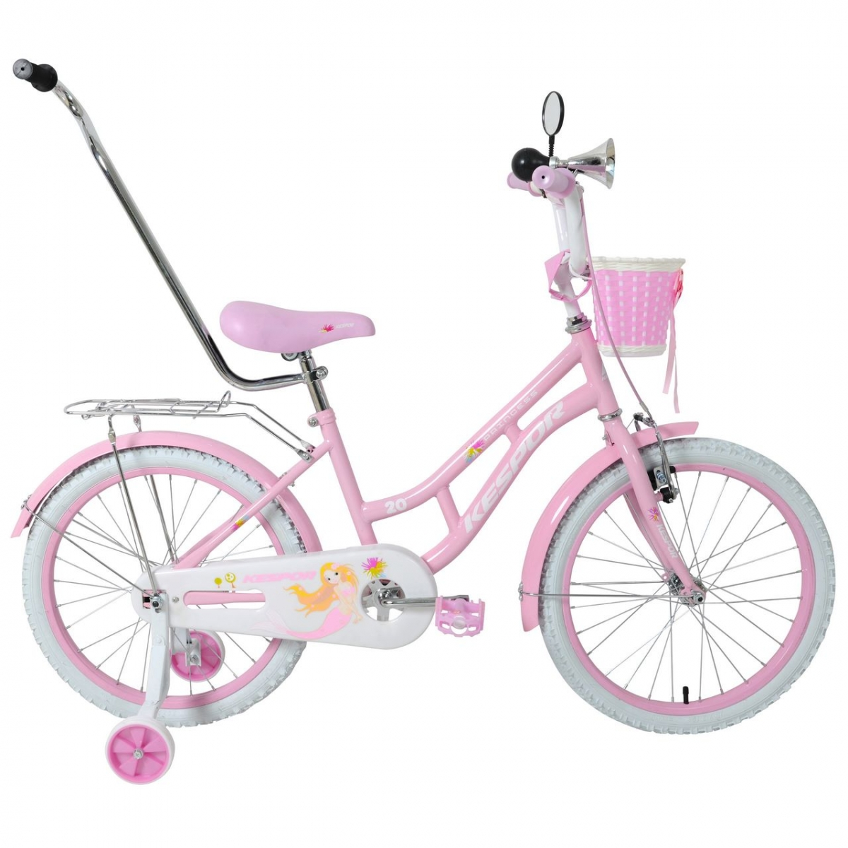 "велосипед kespor 20"" princess розовый"