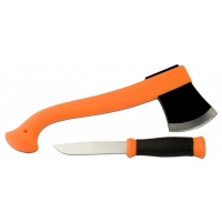 набор morakniv outdoor kit orange, нож mora 2000 (orange)+топор