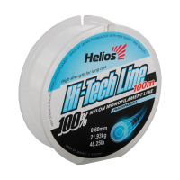 леска helios hi-tech line nylon transparent 0,60mm/100