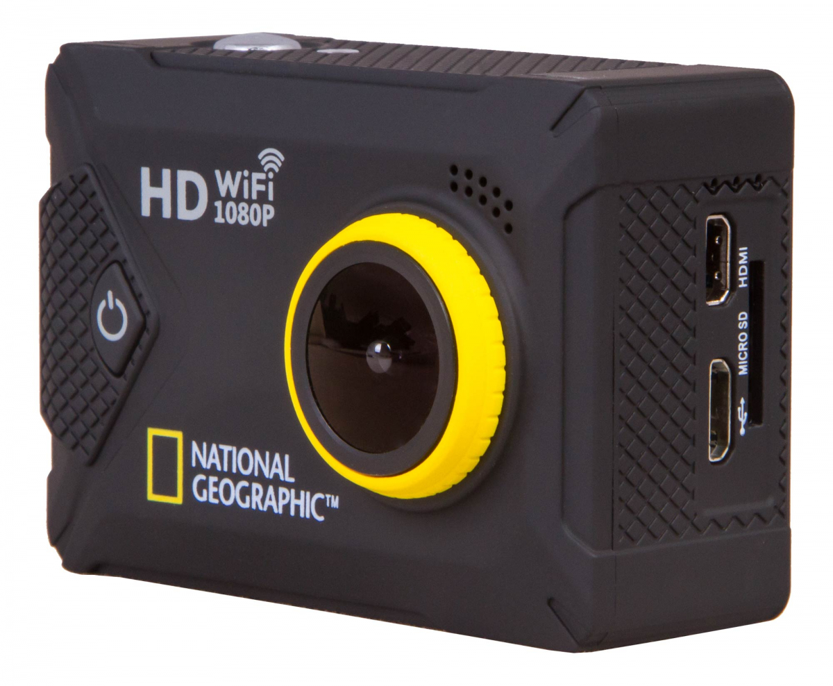 экшн-камера bresser national geographic full hd wi-fi explorer 2 (wp, 140°)