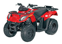 квадроцикл arctic cat 150 red